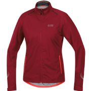 GORE BIKE WEAR ELEMENT GORE TEX JACKET. RUBY RED